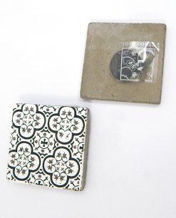 magnete in cemento decorato ad emozioni lisbona