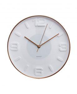 orologio da parete bianco rose gold brandani
