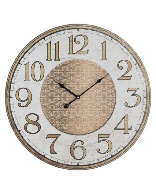 orologio da parete vintage oro brandani