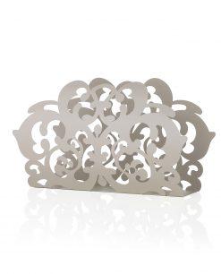 portariviste decorato in metallo i preziosi brandani