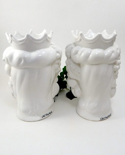 Teste di moro ceramica siciliana caltagirone 1