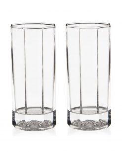 bicchiere da longdrink 2 pezzi versace medusa lumiere
