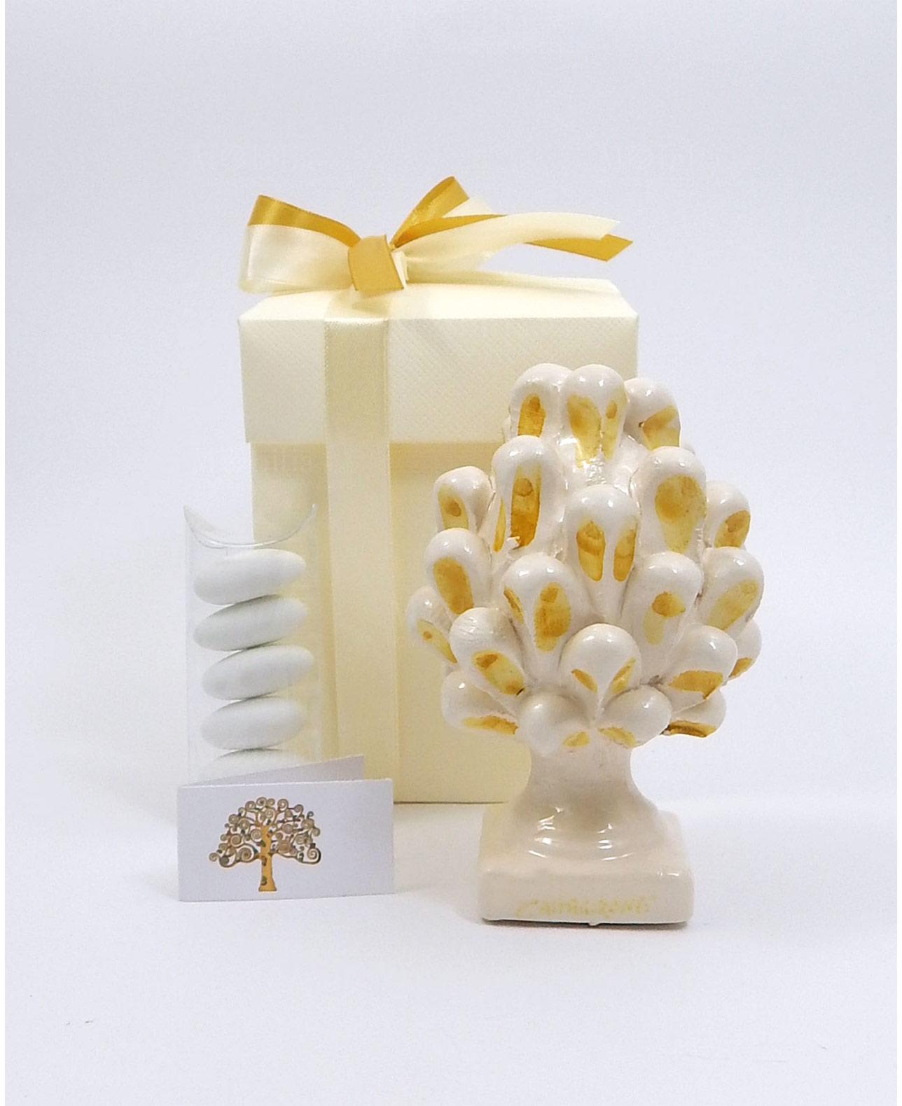 Bomboniere Matrimonio Gialle.Bomboniera Pigna Ceramica Gialla Di Caltagirone Mobilia Store