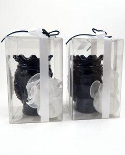 bomboniere artigianali teste di moro nere