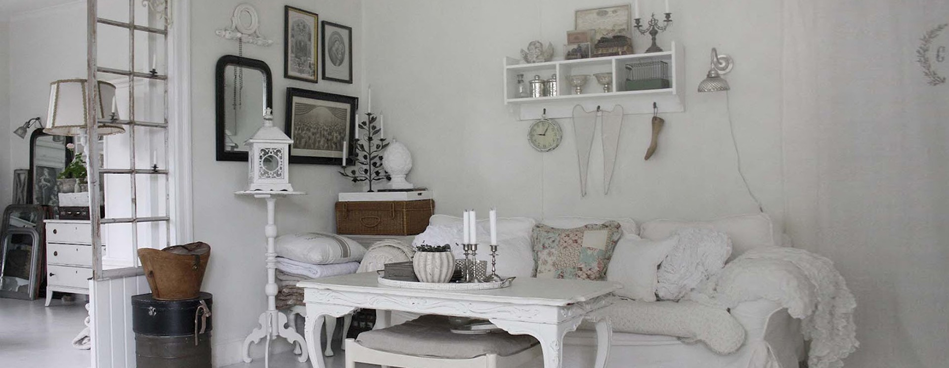 Arredamento in stile shabby chic online su mobilia store for Arredamento shop on line