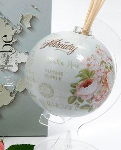 mappamondo profumatore emo in porcellana