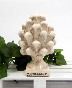 pigna tortora in ceramica di caltagirone piccola 1