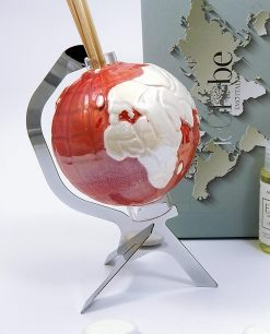 profumatore globo rosso porcellana