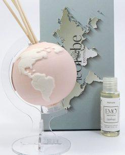 profumatore porcellana mappamondo cipria