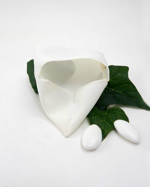 sacchettino bianco in cotone