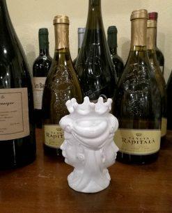 testa di moro ceramica artigianale di caltagirone re e regina insieme