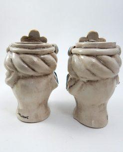 teste di moro artigianali in ceramica di caltagirone 1