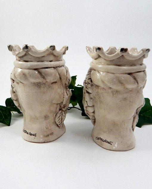 teste di moro con corona ceramica di caltagirone 1