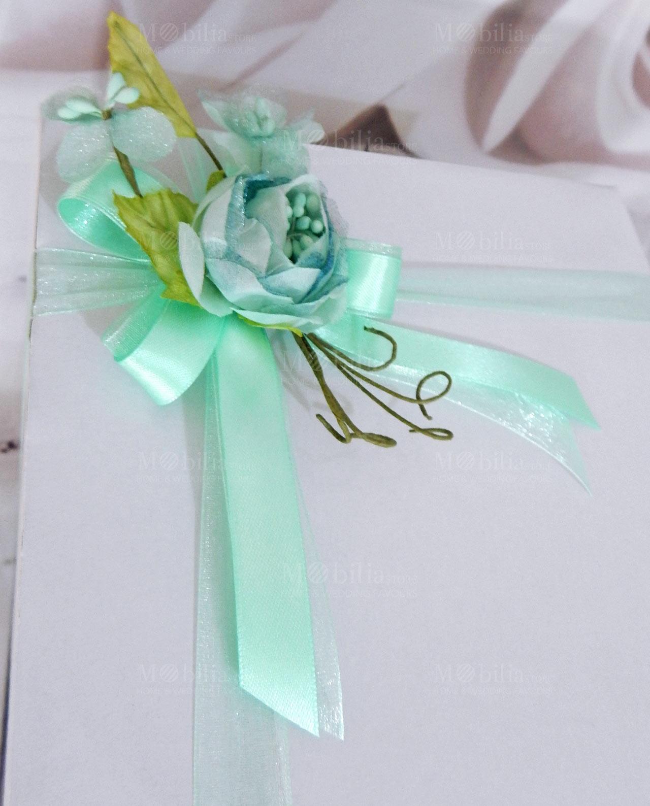 Bomboniere Matrimonio Verde Tiffany.Bomboniera Pumo Pugliese Con Luce Led Ad Emozioni Collezione