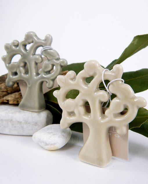 albero della vita porcellana grigio e beige