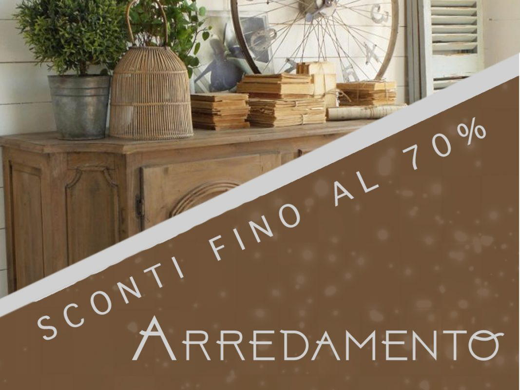 Saldi invernali arredamento 2018 mobilia store home for Arredamento in saldo