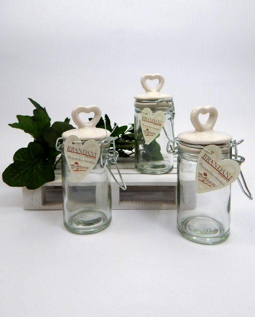barattolini in vetro e porcellana bianchi brandani