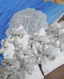 bomboniera matrimonio cucchiaino argento