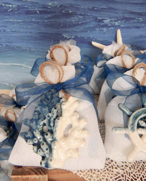 bomboniera pendente blu linea summer