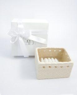 bomboniera scatola porta bustine da tea ad emozioni