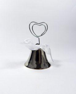 campanella tirabacci in metallo scuro