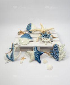 ciondoli mare ceramica blu ad emozioni