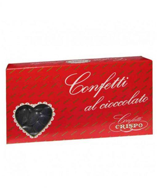 confetti neri al cioccolato crispo