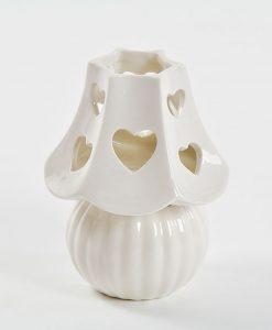 lampada in porcellana piccola con led