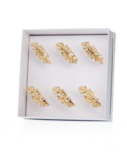 legatovaglioli corallo metallo dorato tema mare emò