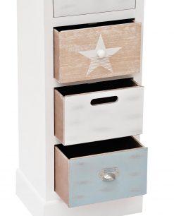 moble in legno con cassetti