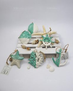 pendenti ceramica bianco tiffany collezione summer