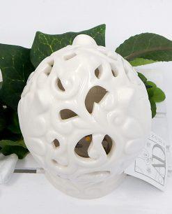 pigne pugliesi in porcellana bianca ad emozioni