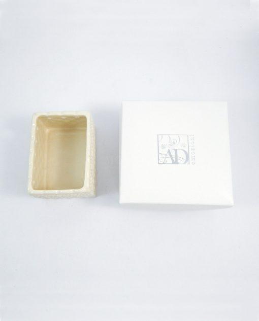 porta bustine da tea in ceramica AD emozioni