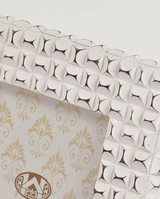 portafotografie moderno bianco rettangolare