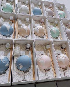 profumatore globo porcellana vari colori linea bisquit emò