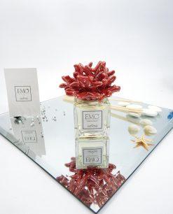 profumatore vetro corallo rosso emò