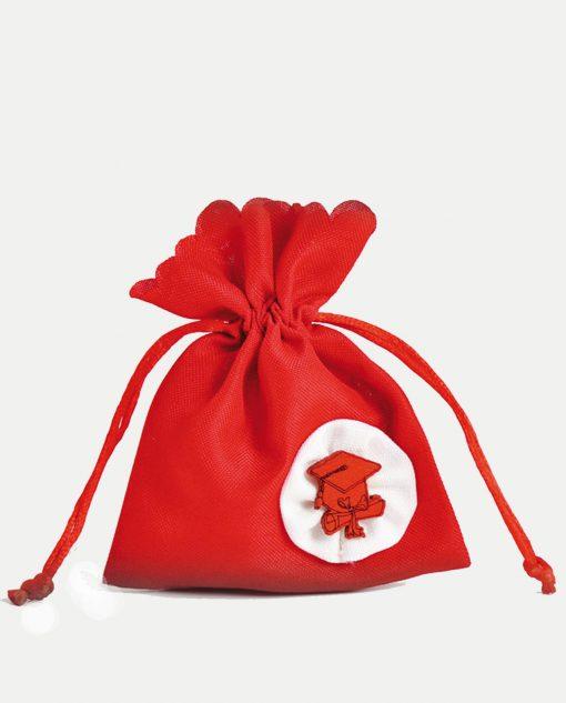 sacchetto rosso per laurea