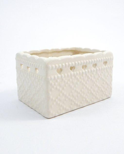 scatola porta bustina da tea ceramica ad emozioni