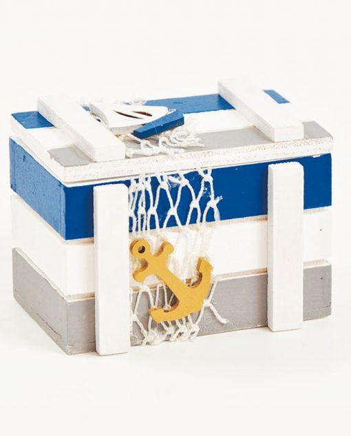 scatolina per bomboniera tema mare
