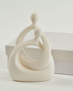 sposi in porcellana per bomboniera con scatola
