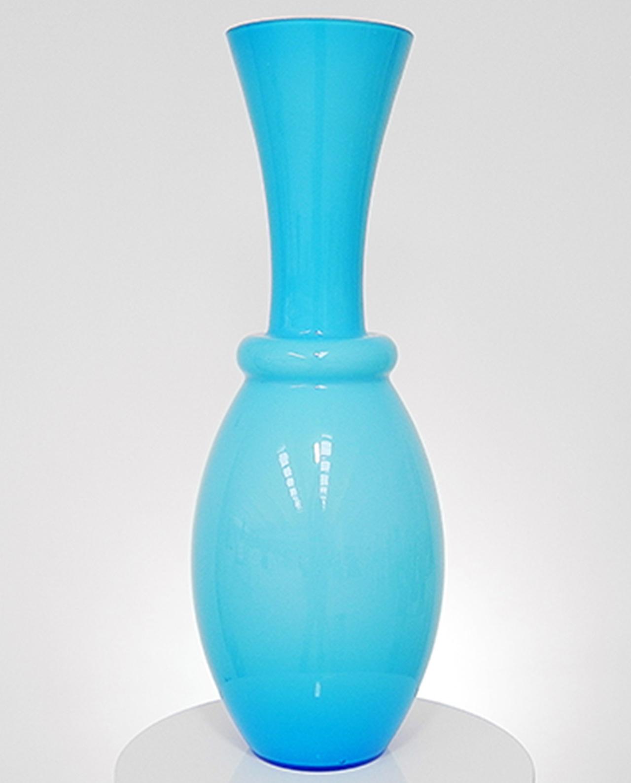 Vasi in vetro azzurri 2 misure mobilia store home favours for Vasi ermetici vetro