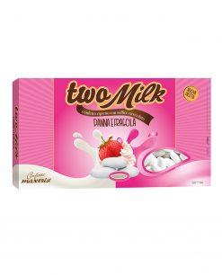 Confetti two milk panna e fragole Maxtris