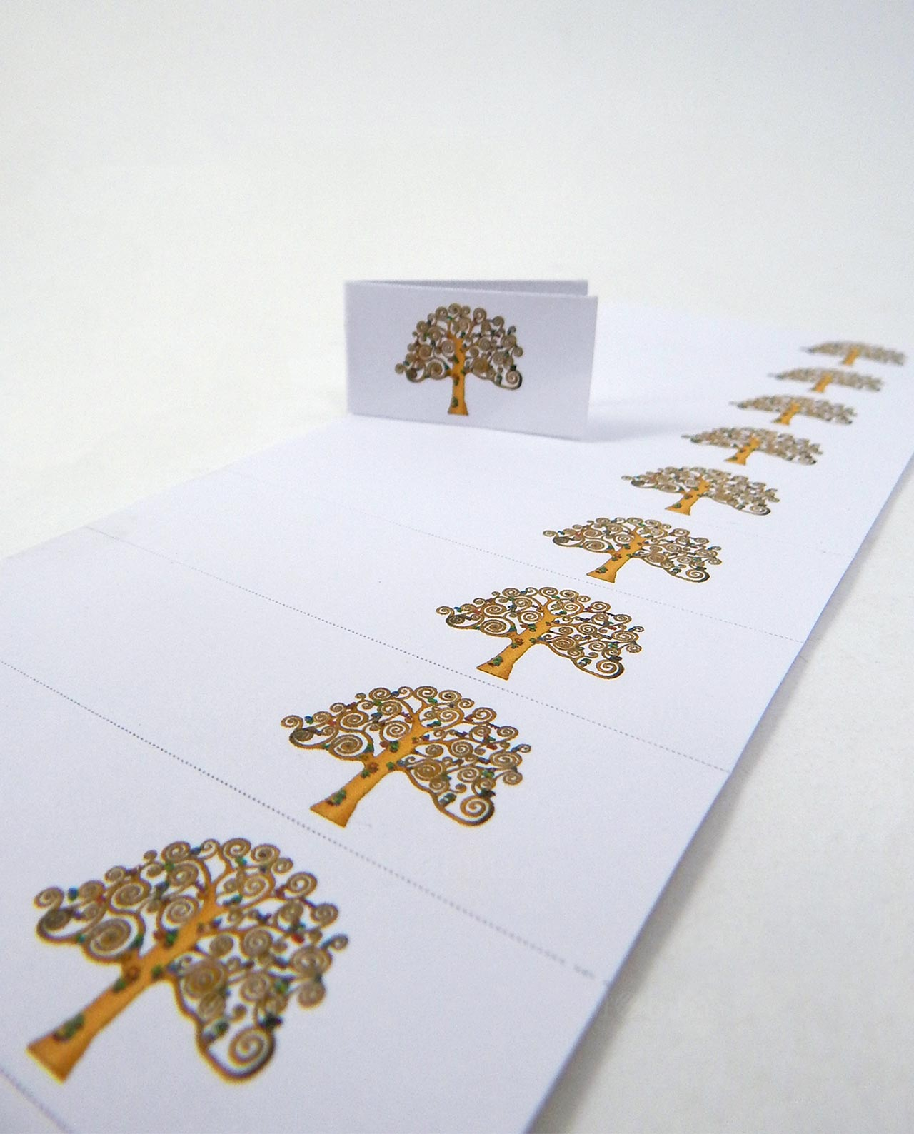 Set 10 bigliettini albero della vita