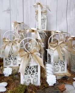 bomboniera lanterna albero della vita con scatola e gessetto