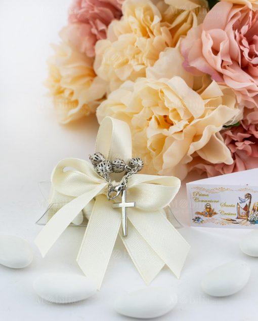 bomboniera rosario su tubicino