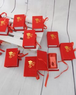 bomboniere laurea scatoline portaconfetti con confetti