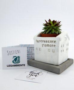 bomboniere solidali vasetto porta piante terracotta piccolo