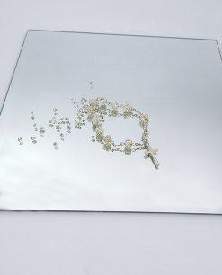 bracciale rosario swarovski per bomboniere