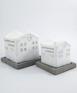 casette porta piante terracotta bianca
