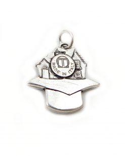 ciondolo argento per laurea architettura tabor